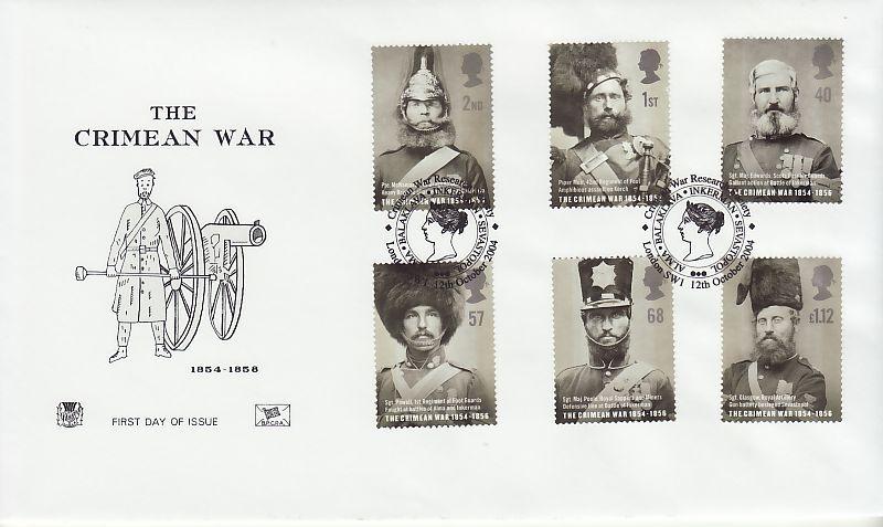 Crimean War First Day Cover