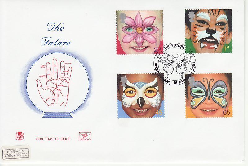 Hopes for the Future First Day Cover