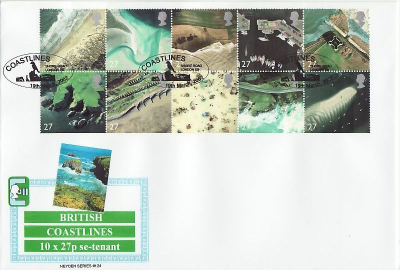 British Coastlines First Day Cover