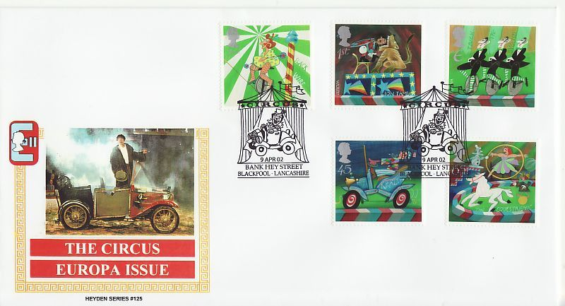 Circus First Day Cover