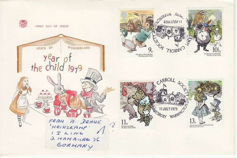 Year of the Child First Day Cover