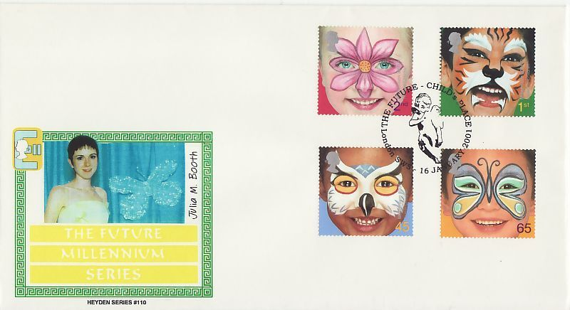 The Future First Day Cover