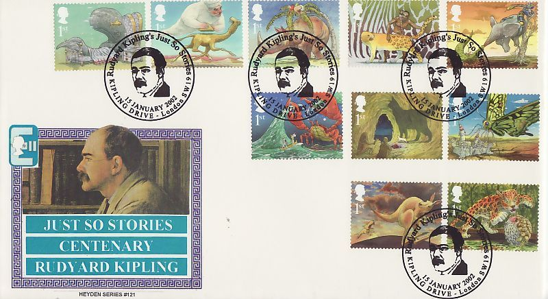 Just So Stories First Day Cover