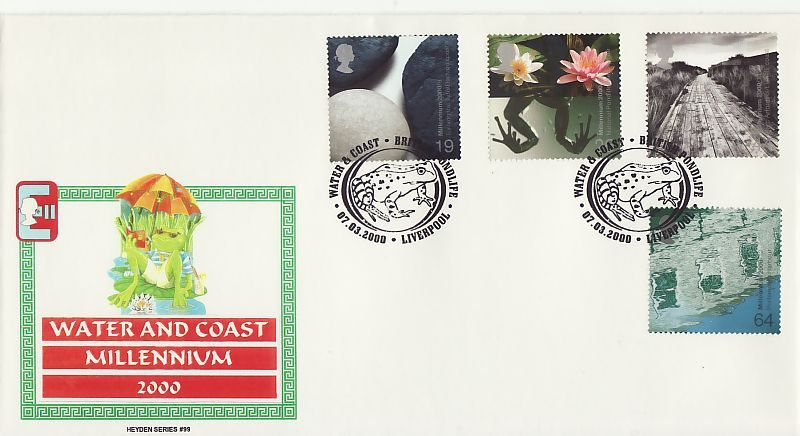 Water and Coast First Day Cover