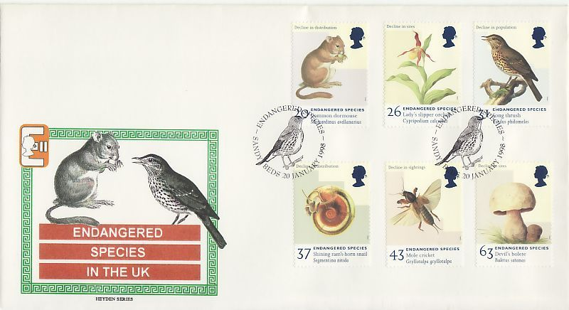 Endangered Species First Day Cover