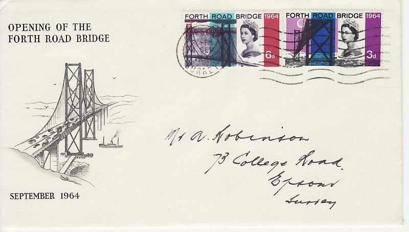 Forth Road Bridge First Day Cover