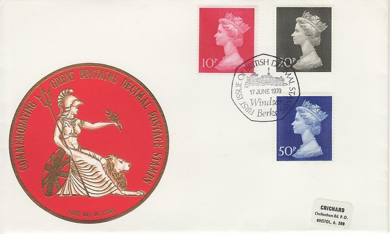 Definitive First Day Cover
