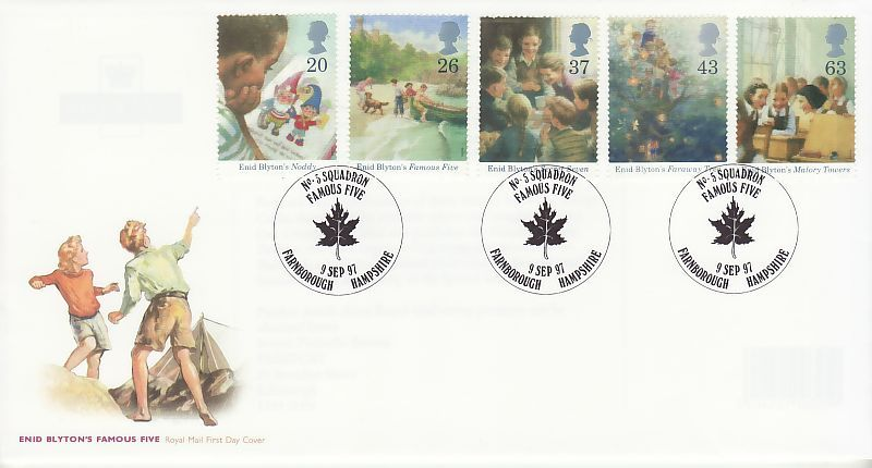 Enid Blyton First Day Cover
