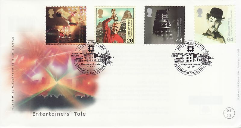 Entertainers Tale First Day Cover