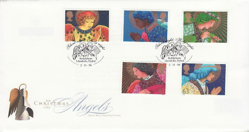 Christmas First Day Cover