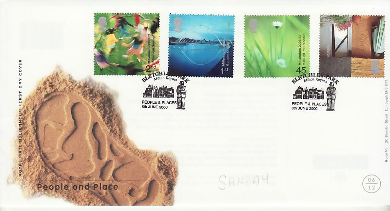People and Place First Day Cover