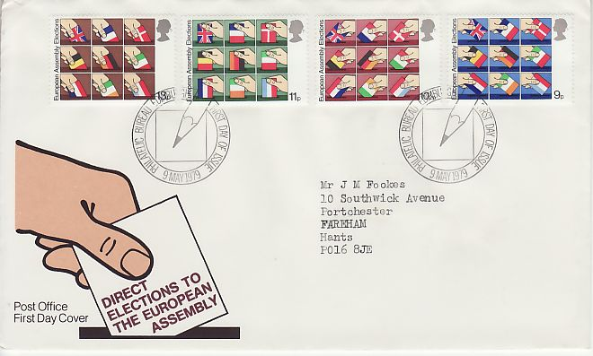Direct Elections First Day Cover