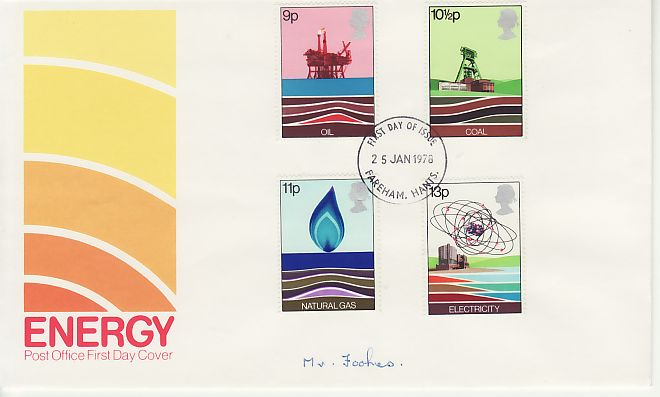 Energy First Day Cover