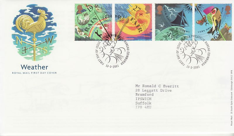 Weather First Day Cover