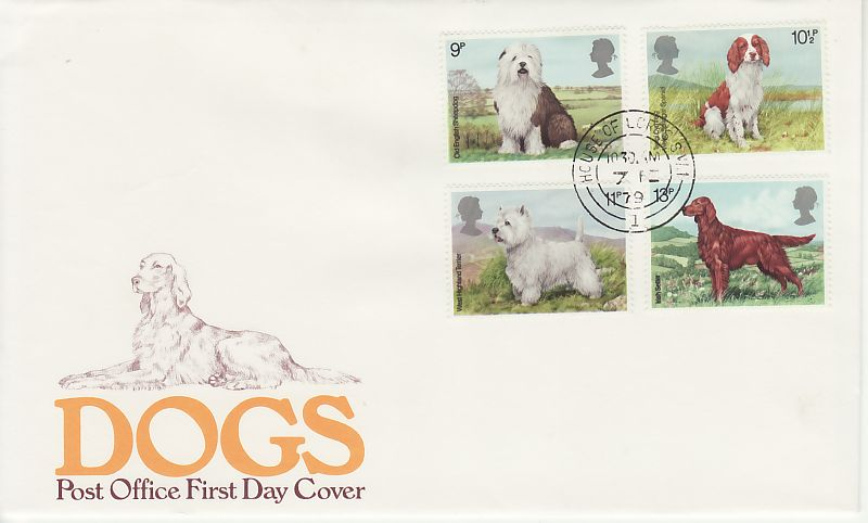 Dogs First Day Cover