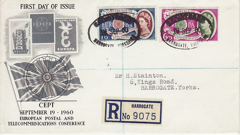 Europa CEPT First Day Cover
