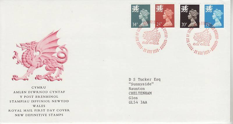 Regional Definitive First Day Cover